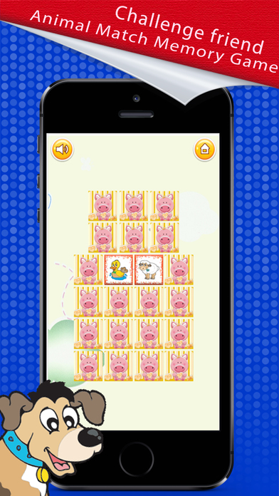 Memory Match : Animal Card Game screenshot 3