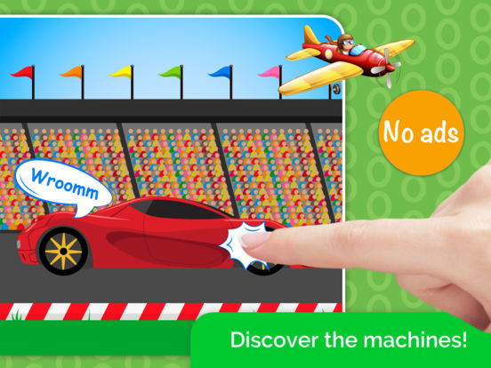 Cars,Planes,Ships! Puzzle Games for Toddlers. AmBa screenshot 7