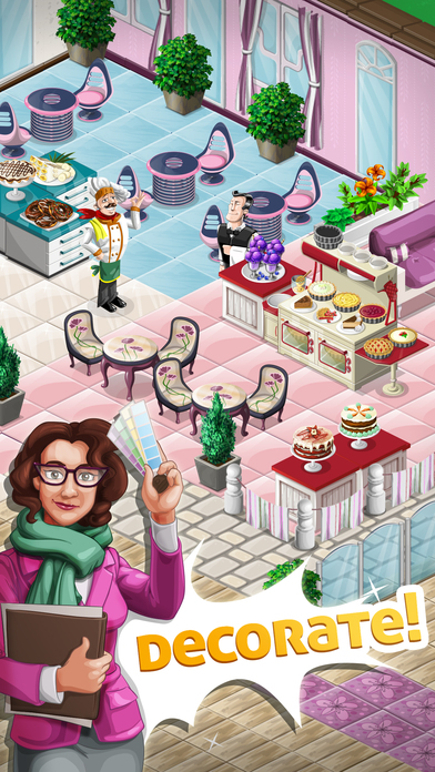 Screenshots of Chef Town: Cooking Simulation for iPhone