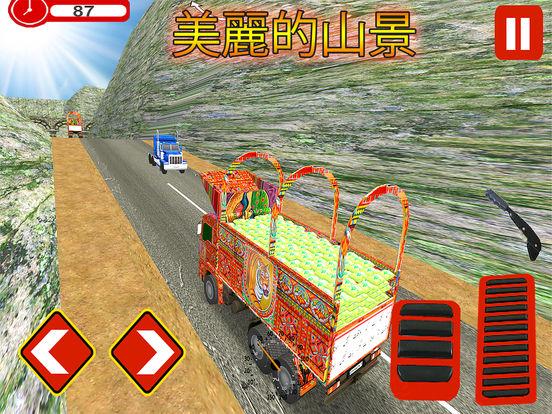 Pak-China Cargo Truck Sim screenshot 8