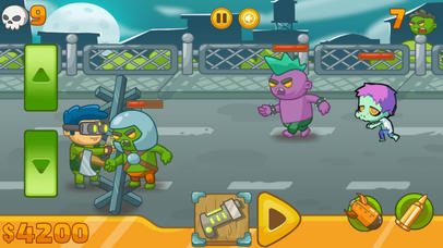 Zombie Defense Battle 2017 screenshot 3