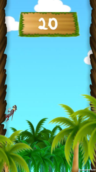 jungleRun-nija screenshot 2