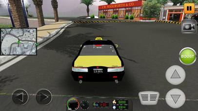 Taxi Simulator 2017: City Car Driving screenshot 3