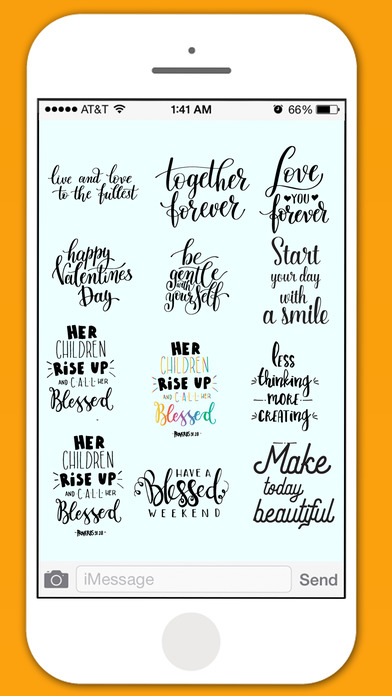 Positive Life - Affirmative Sticker Pack screenshot 2