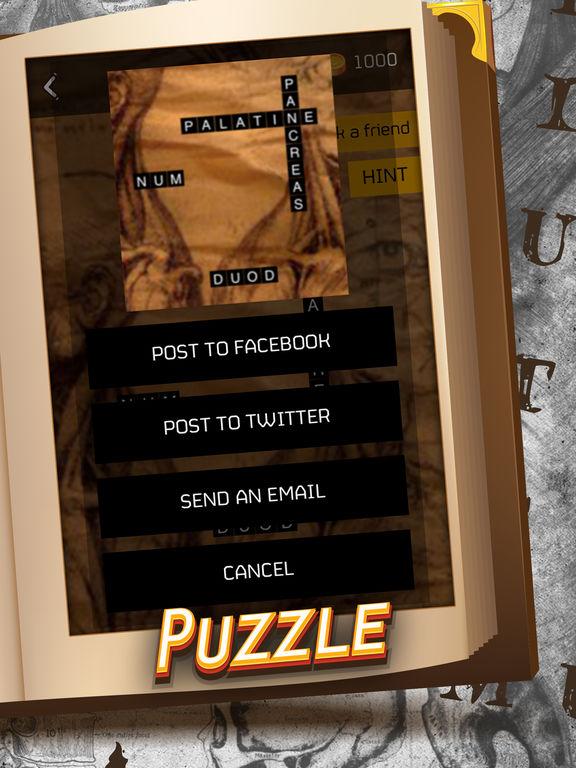 Anatomy Crossword Game Pro screenshot 4
