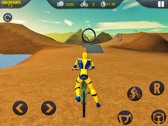 Spider Superhero Bicycle Riding: Offroad Racing screenshot 6