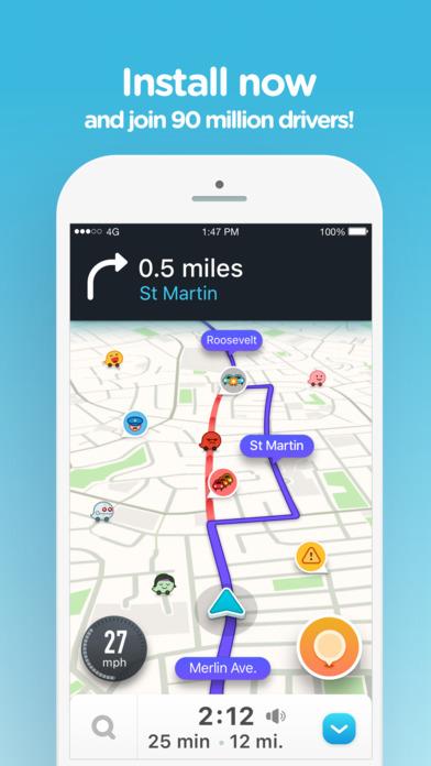 download Waze Navigation & Live Traffic apps 2