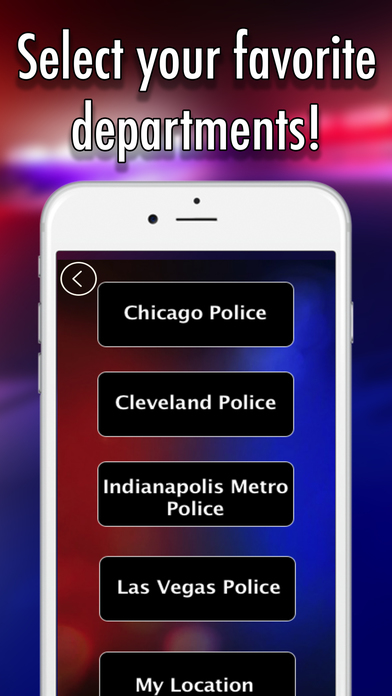 Police Scanner with Lights & Radar App Download Android APK