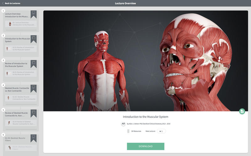 Complete Anatomy 2018 for Mac 3.0 Full Version 破解版 - 强大的3D医学人体模型