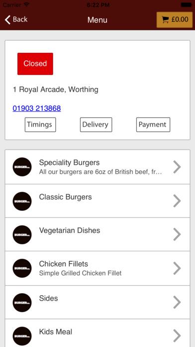 Burger Mee Worthing screenshot 2