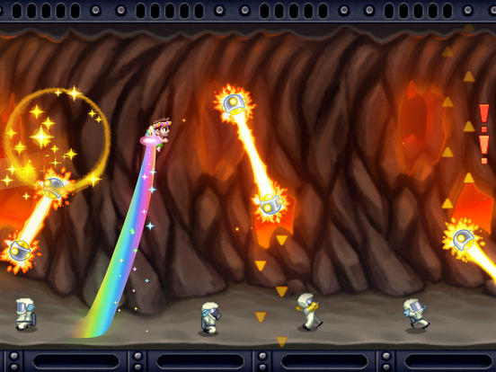 Screenshot #2 for Jetpack Joyride
