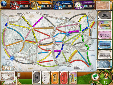 Top Board Game Ticket to Ride For iOS Ties Lowest Price Since 2012