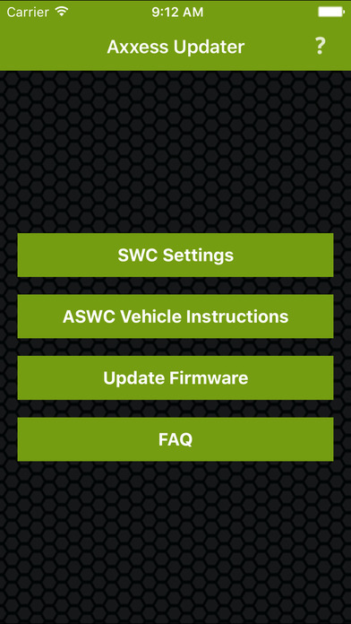 aswc 1 vehicle instructions