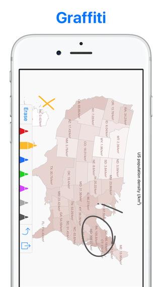 Visual Chart - Pie Bar Line Radar Map Chart Maker, Diagram & Graph Screenshots