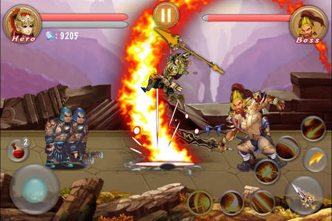 Spear Of Dark Pro - Action RPG screenshot 1