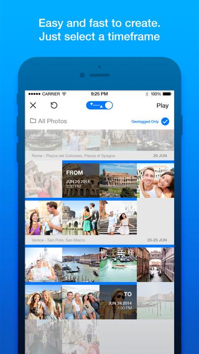 Storyo - Turn Photos into Visual Video Journals & Slideshow Screenshot