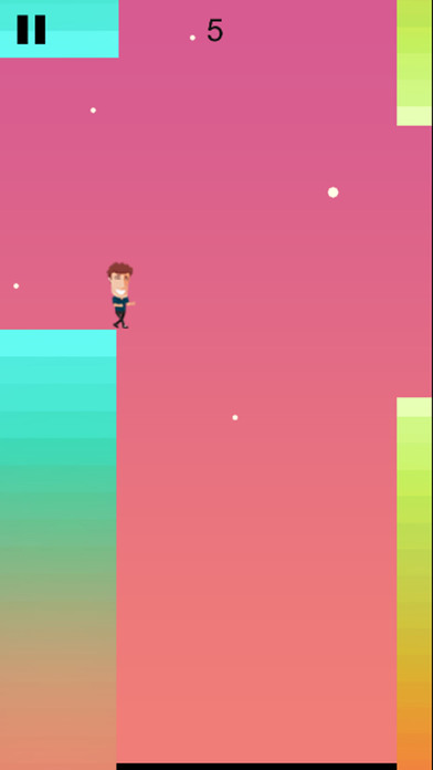 Comedian Gap Adventure- Walk over Space! Screenshot