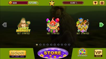 Screenshot 3 Crazy monkey — игровые аппараты и автоматы бесплатно онлайн