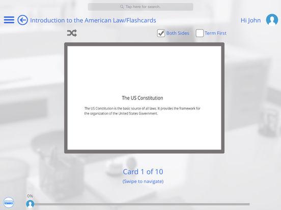 US Law for iPad iPad Screenshot 5