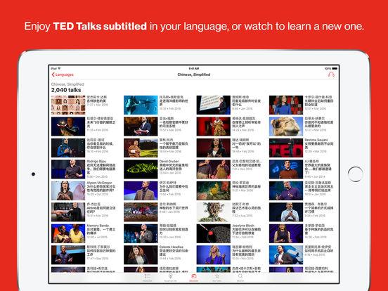TED iPad Screenshot 5