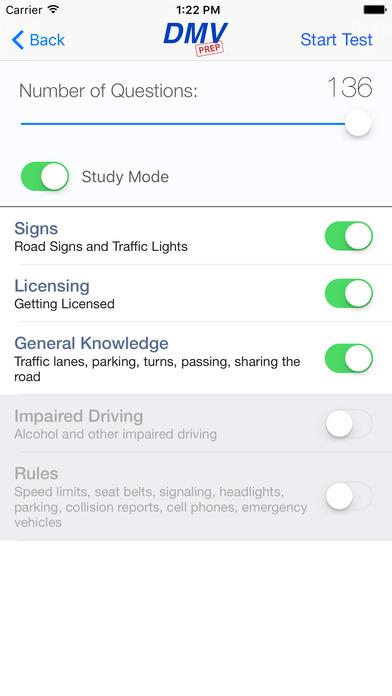 DMV Test Prep - Maine iPhone Screenshot 2