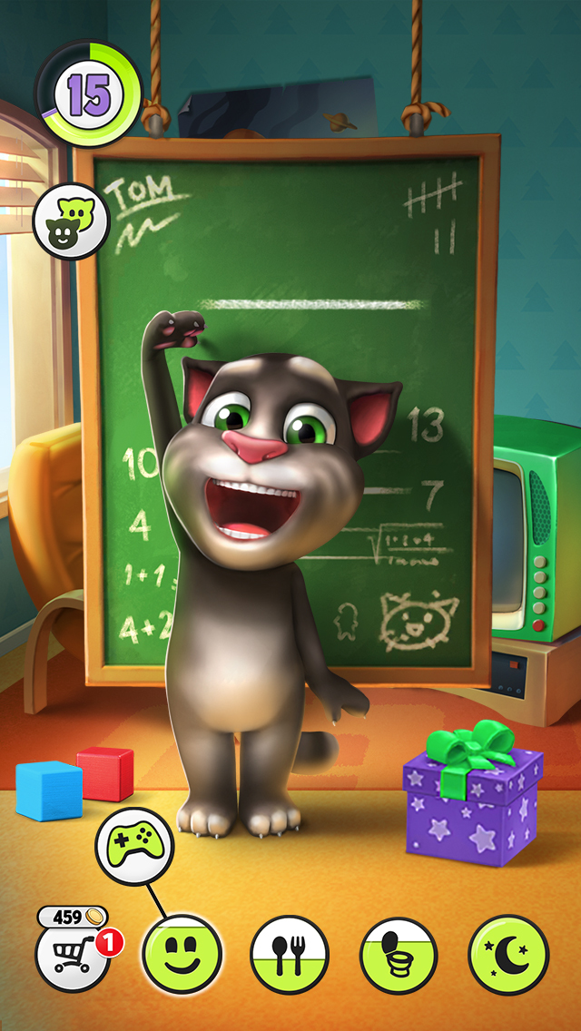 Screenshots of My Talking Tom for iPhone