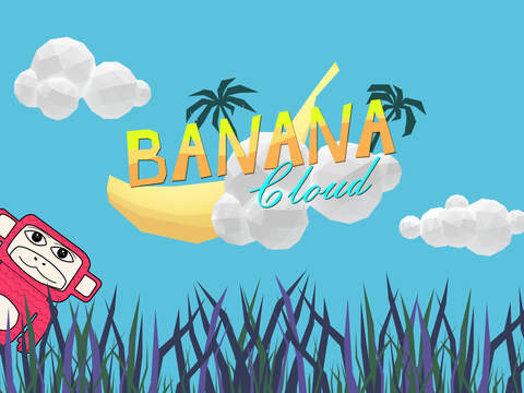 Banana Cloud 1.0.3 released for iOS - Collect as many bananas as you can Image