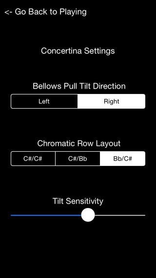 Concertina - C/G Anglo Concertina iPhone Screenshot 1