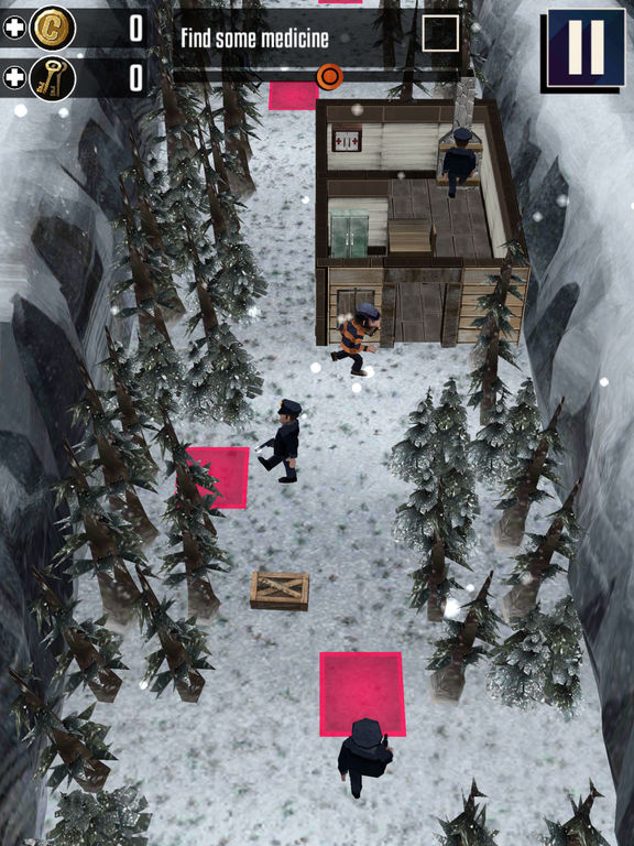 Winter Fugitives 2: Chronicles для iPad