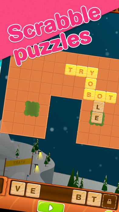 Words of Gold - Puzzles for Scrabble Screenshot