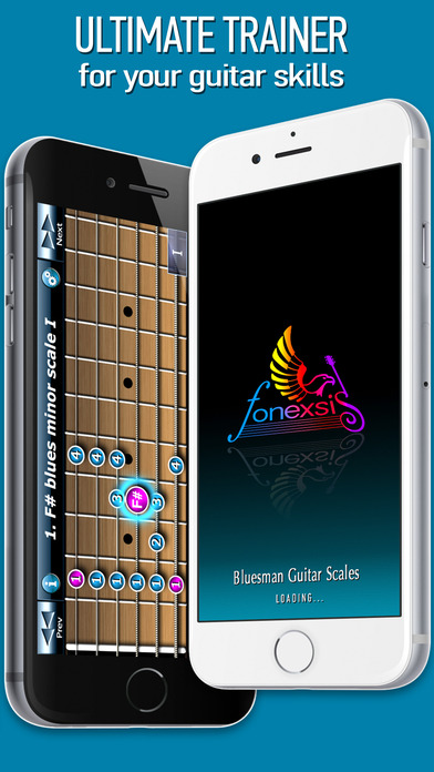 Bluesman Guitar Scales iPhone Screenshot 5