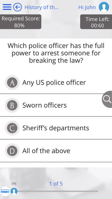 US Law for iPad iPhone Screenshot 3