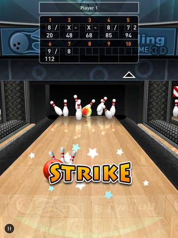 Bowling Game 3D Screenshots