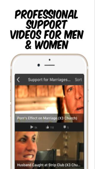 Porn & Sex Addiction Support iPhone Screenshot 3