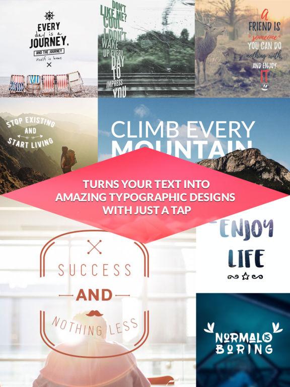 TypiMage - Typography Editor Screenshots