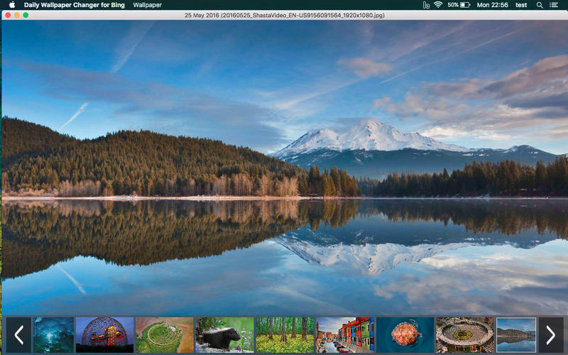 daily wallpaper changer for bing on the mac app store