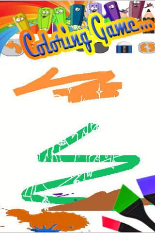 Painting App Game Turtle Ninja Edition screenshot 2