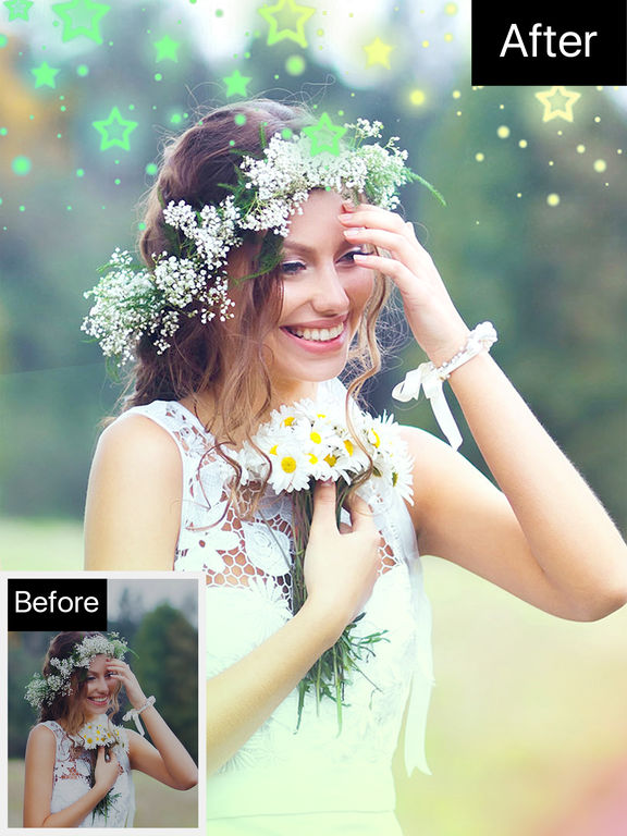 Bokeh Photo Editor - Colorful Pictures & Camera Effects HD App Free screenshot