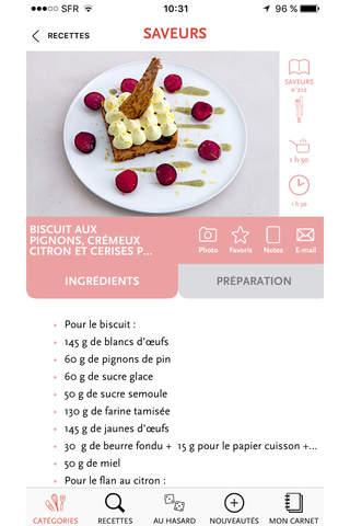 Saveurs, plus de 3000 recettes inratables, gourmandes et raffinées screenshot 3