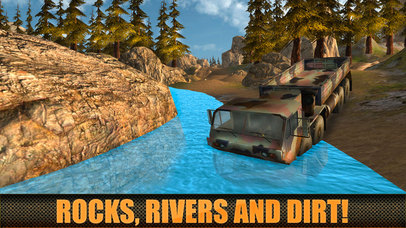 Army Truck Offroad Driver 3D Full screenshot 2