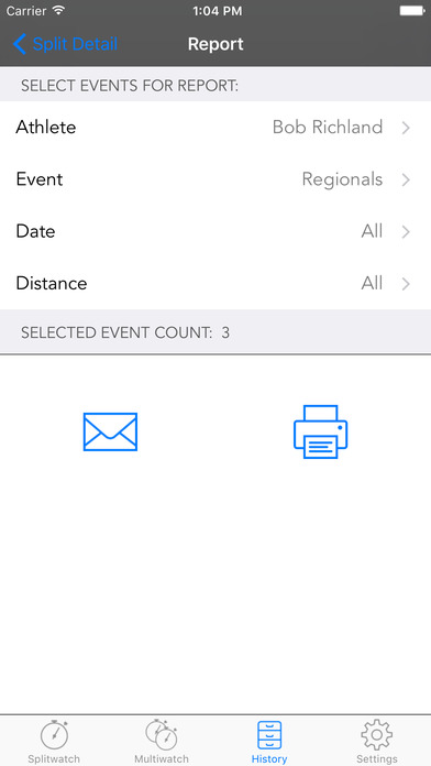 Splitwatch iPhone Screenshot 5