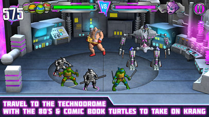 Screenshots of Teenage Mutant Ninja Turtles: Portal Power for iPhone
