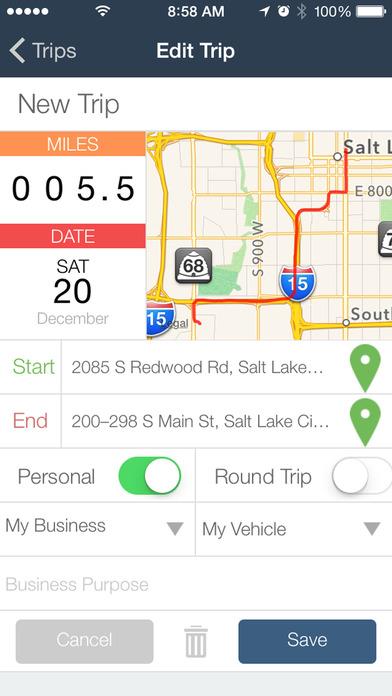 Taxbot - Automatic Mileage & Expense Tracker app image