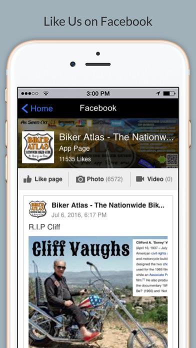 BIKER ATLAS USA screenshot
