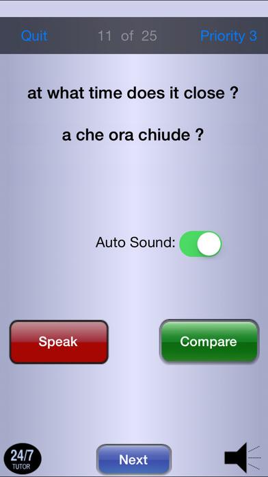 Italian Phrases iPhone Screenshot 5