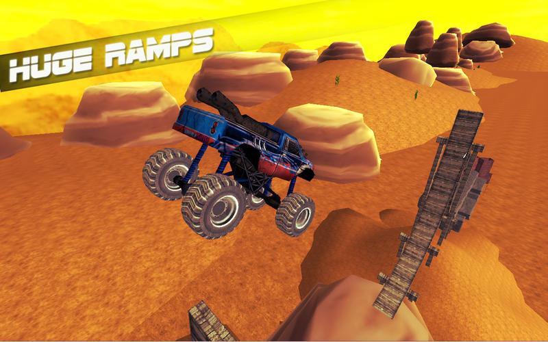 Monster Truck Stunt Madness Screenshot - 5