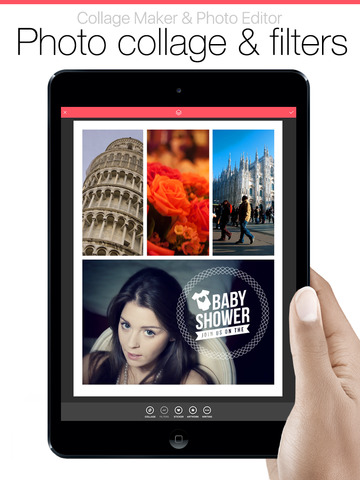Pic Collage Jointer Grid Pro - Collage Maker & Photo Editor Скриншоты10