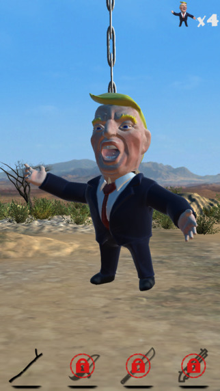Trump Piñata Party