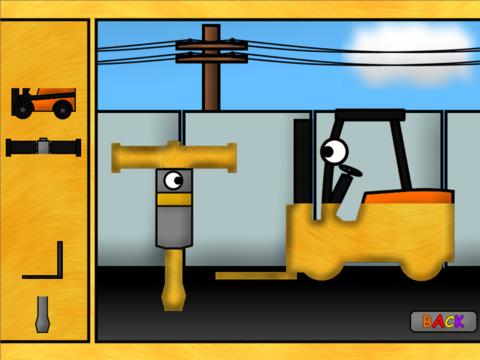 Детские грузовички: Пазлы