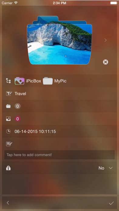 iPicBox - Basic Private Photo Vault Screenshots